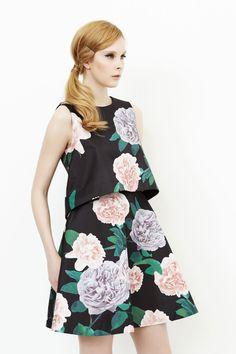 Fashion Design | Erin Fetherston Lookbook: Fall 2014