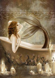 Bath Time Fine-Art Print by Selina Fenech at UrbanLoftArt.com