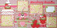 A Layout i made Using Berry Pals: Strawberry Sweeties