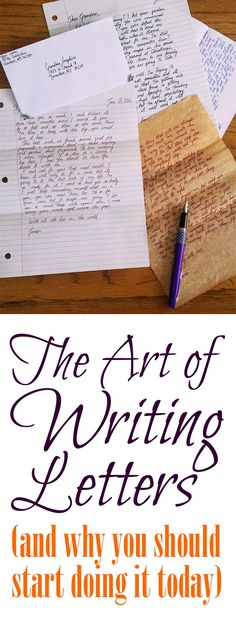 Writing letters is great for you and wonderful to receive, so pick up your pen and make communication personal again! Writing letters is great for you and wonderful to receive, so pick up your pen and make communication personal again!