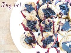 Blueberry Muffin Pancakes   www.veggiesdontbite.com   #vegan #plantbased #glutenfree