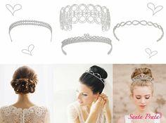 Coleção Luxury da Santa Prata para noivas