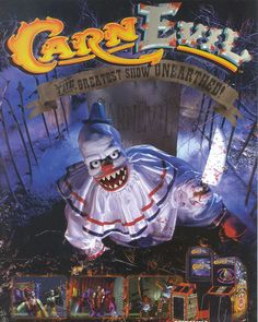 On instagram by the_garbage_pit #retrogames #microhobbit (o) http://ift.tt/1K0DssZ memory time. Who remembers this one? I specifically remember playing #CarnEvil at a local pizza place back around 98. Haven't seen this arcade around since. #RetroGames #ArcadeGames