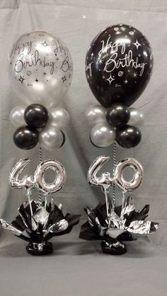 Miniloon Event tower - New Site Birthday Balloon Decorations, Balloon Centerpieces, 60th Birthday Centerpieces, 40th Birthday Balloons, 90th Birthday Parties, 50th Party, Birthday Celebration, Party Ideas, Balloon Tower