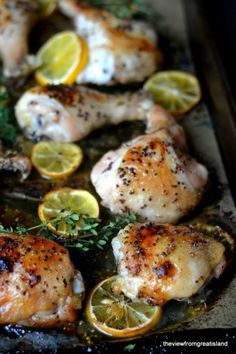 Lemon Roasted Chicken #dinner #bake #simple #lemonchicken #recipe #suja #sujajuice #health #nutrition #juicecleanse #itsthejuice #detox #organic #wholefoods #nongmo