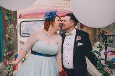 1950s wedding.