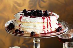 Turn two Christmas classics – pavlova and cherries – into one fabulous dessert.