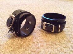 Vegan Wrist Cuffs pair/medium by JMD21407 on Etsy