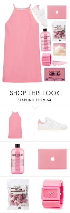 """☆ I REMEMBER SYRUP SANDWICHES AND CRIME ALLOWANCES"" by audwepaudwe ❤ liked on Polyvore featuring Raey, adidas Originals, philosophy, Nixon and By Terry"