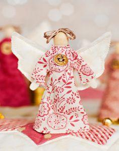 handmade angel christmas decoration