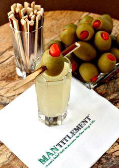 Dirty Martini Shots