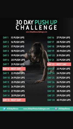 My push up challenge/arms and core