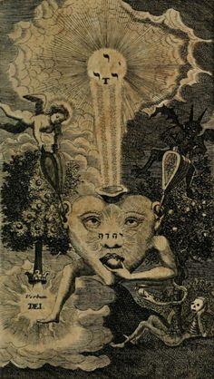 Johannes Tauler. Helleleuchtender Hertzens-Spiegel. 1705.. Magic Transistor on Tumblr