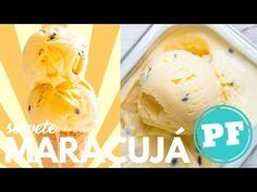 Para diminuir esse calor, nada melhor que um sorvete bem refrescante de maracujá. É fácil e nem precisa de sorveteira!