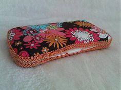 Wesega / Kvetový dekoračný obal na cestovný box na vlhčené utierky