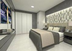 Projeto de Flat em andamento!   #projetoclaudinycavalcanti #projeto #3d #decor #interiores #interiors #arquitetura #flat #design #decoration #decoração #ambientação #quarto