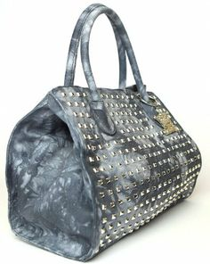 Sconto 30% Borsa Donna Mia Bag denim nuances Shopping denim borchie Mia Bag, http://www.amazon.it/dp/B00KQNAGJ6/ref=cm_sw_r_pi_dp_-bKJtb108813S