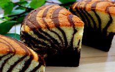 Josephine's Recipes : Zebra Cake Recipe | Chocolate Vanilla Marble Cakes...