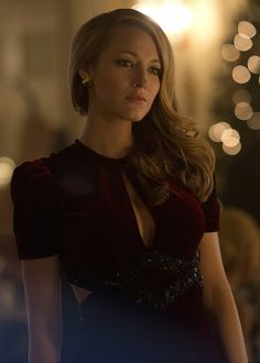 """Blake Lively - """"Age of Adaline"""" movie still She is so pretty and I love her hair!"""