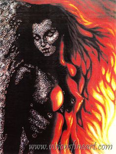 ♥ Octavio Ocampo - Firewoman  THIS IS HOW I FEEL ALL THE TIME