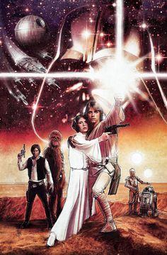 Star Wars - A New Hope by Paul Shipper, via Behance