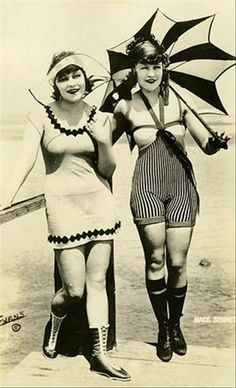 Older Women in Bathing Suits | old style bathing suits