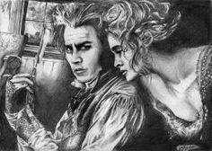 Sweeny and Mrs Lovett-at deviantart