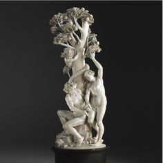 An Austro-German Ivory high relief of the fall of man, by Balthasar Griessmann(1620-1706), <P>circa 1670-90</P> | Lot | Sotheby's