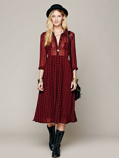 Free People Lou Buttondown Dress at Free People Clothing Boutique