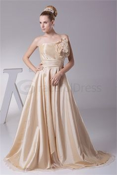 Fall Floor-Length Taffeta One Shoulder Pear Bridesmaid Dress  http://www.GracefulDress.com/Fall-Floor-Length-Taffeta-One-Shoulder-Pear-Bridesmaid-Dress-p20116.html