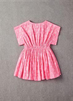 Nellystella Wren Dress in Pink Flower