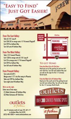 Outlets at Anthem near Phoenix AZ