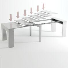 Mesa Consola Extensível até 235 cm - Stock-Off