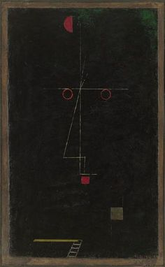 Paul Klee, 'Portrait of an Equilibrist' (1927)