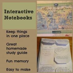 Interactive Notebooks for geography