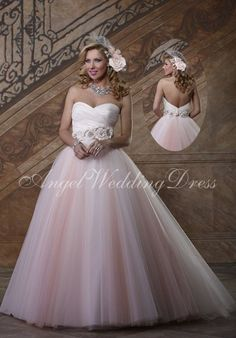 Plus Size ball gown Wedding Dresses | ball gown tulle sweetheart court train plus size wedding dress 1241502 ...