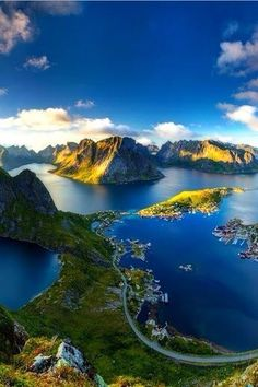 Norway - gorgeous mix of mountains and water
