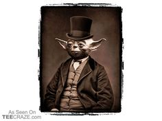 Portrait of Sir Yoda T-Shirt
