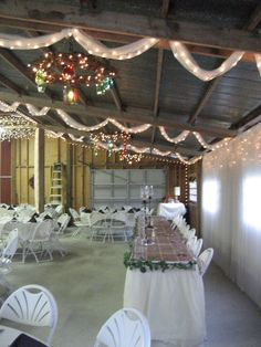 Country Barn Wedding - Amazing ideas (Thanks Mr. and Mrs. Doering)