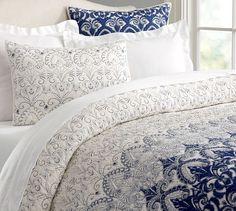 Keller Stitched Quilt & Shams | Pottery Barn