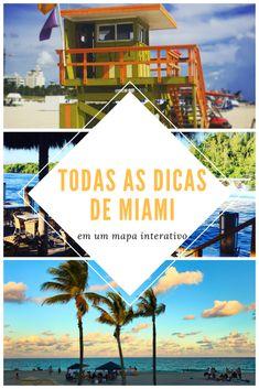Todas as dicas de Miami (70+) em um mapa interativo. All Miami tips (70+) on an interactive map.