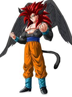 dark angel goku ssj 4 by on DeviantArt Goku Af, Dbz, Son Goku, Saga Dragon Ball, Dragon Bowl, Evil Goku, Captain America Wallpaper, Batman Vs Superman, Anime Characters