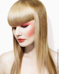Причёска с ЧЁЛКОЙ на заколках http://www.livemaster.ru/hair-collection http://www.aleksandr-and-olga.ru/