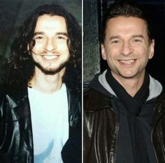 Some things never change ❤❤❤ Dave Gahan and his beautiful smile.
