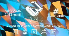 #CursosD3D brinda #Cursos individuales, #personalizados y profesionales de modalidad presencial ,#Online y a domicilio. Para personas de cualquier edad. Orientadas a #estudiantes , #profesionales o entusiastas, con un nivel inicial o avanzado, de las siguientes #herramientas para #Diseño y #computación #gráfica : #Photoshop #Illustrator #Premiere #3DsMax y #ZBrush.