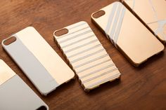 DIY a gold iPhone case with this step by step tutorial.