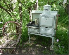 Rustic     http://cheneybaglady.blogspot.com/2011/07/visit-to-mary-jane-farm.html