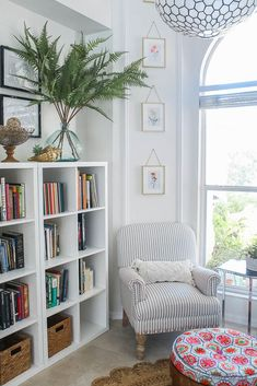 Home Library Rooms, Home Library Design, Book Design, Bookshelf Inspiration, Room Inspiration, Living Room Interior, Living Room Decor, Living Rooms, Living Room Nook