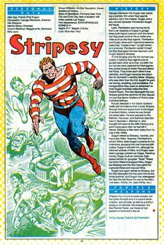 """Stripesy""--mentor and side-kick to Star Spangled Kid I, step-father to SSK II"