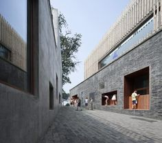 trace architecture office xiaoquan elementary school    - too bad it isn't a green city..